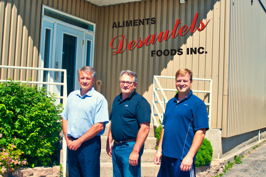 The owners of Aliments Desautels Foods Inc.